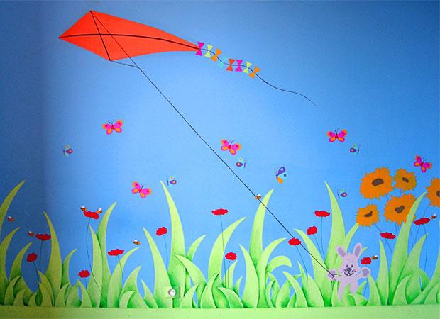 Sabine design sabine design d coration enfant peinture murale enfants fresque murale for Peinture murale chambre enfant