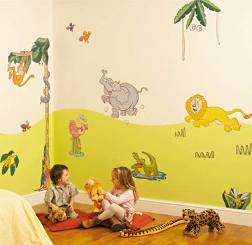 Sabine Design Sabinedesign Decoration Enfants Adhesifs - Enfants decoration chambre autocollants
